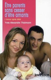 Etre parents sans cesser d'etre amants n.30 - Intérieur - Format classique