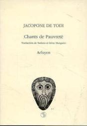 Chants De Pauvrete - Couverture - Format classique