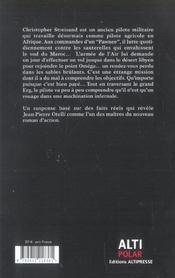 Omega point, le piège - 4ème de couverture - Format classique