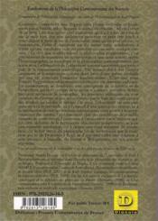 Grammaire De L'Objectivite Scientifique - 4ème de couverture - Format classique
