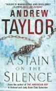Vente livre :  A STAIN ON THE SILENCE  - Andrew Taylor