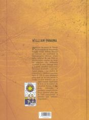 William Panama t.3 ; tempete sur key west - 4ème de couverture - Format classique