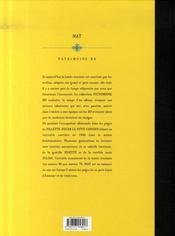 Oscar le petit canard - 4ème de couverture - Format classique