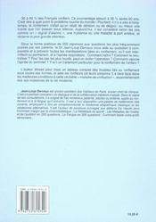 Ronflements Et Apnees Du Sommeil - 4ème de couverture - Format classique