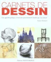 Carnets de dessin ; une approche pratique et innovante pour dessiner le monde qui vous entoure - Intérieur - Format classique