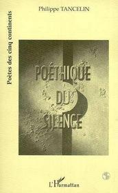 Poethique Du Silence - Intérieur - Format classique