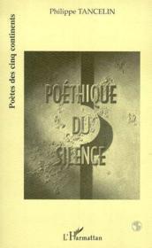 Poethique Du Silence - Couverture - Format classique