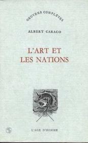 L'Art Et Les Nations - Couverture - Format classique