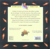 La fête des carottes - 4ème de couverture - Format classique