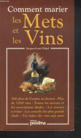 Comment marier les mets et les vins - Couverture - Format classique