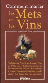 Comment marier les mets et les vins - Intérieur - Format classique