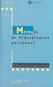 Methode Dedoublement Personnel - Couverture - Format classique
