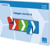 Langue écrite t.2 ; GS - Couverture - Format classique