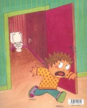 Il y a un monstre dans les toilettes - 4ème de couverture - Format classique