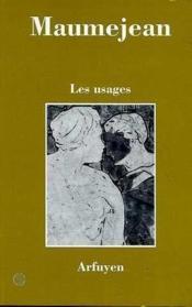 Usages (Les) - Couverture - Format classique