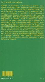 Aux origines du monde ; contes et histoires de pygmees - 4ème de couverture - Format classique