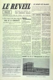 Reveil (Le) N°1043 du 01/06/1965 - Couverture - Format classique