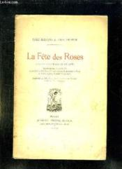La Fete Des Roses. Comedie Historique En Un Acte. - Couverture - Format classique