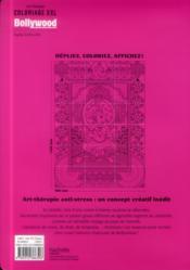 Art-Therapie ; Coloriages Xxl ; Bollywood - 4ème de couverture - Format classique