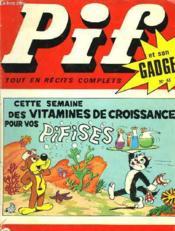 Pif Et Son Gadget N° 61 - Couverture - Format classique