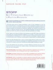 Stopp - 4ème de couverture - Format classique