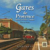 Gares de la provence - Couverture - Format classique