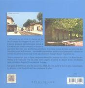 Gares de la provence - 4ème de couverture - Format classique