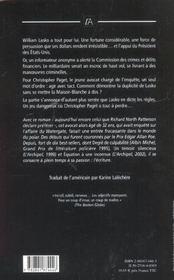La Loi De Lasko - 4ème de couverture - Format classique