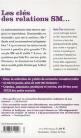Osez ; Tout Savoir Sur Le Sm - 4ème de couverture - Format classique