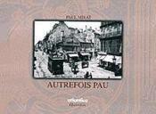 Autrefois Pau - Couverture - Format classique