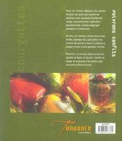 Courgettes, Aubergines Et Poivrons - 4ème de couverture - Format classique
