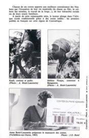 Contes Du Pays Nzakara (Centrafrique) - 4ème de couverture - Format classique