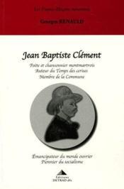 Jean Baptiste Clement - Couverture - Format classique