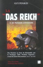 La das reich ; 2e SS panzer division - Intérieur - Format classique