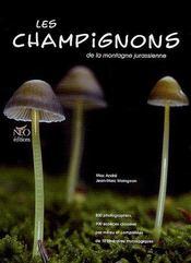 Les champignons de la montagne jurassienne - Couverture - Format classique