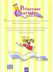 Devient Magicienne Princesse Charlotte - 4ème de couverture - Format classique