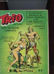 Trio N°5 - Le Journal Des Pieds Nickeles Et De Bib Fricotin - Tombe Du Ciel - Couverture - Format classique