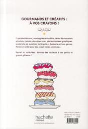 100 cupcakes à colorier - 4ème de couverture - Format classique