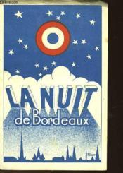 La Nuit De Bordeaux 29 Janvier 1945 - Couverture - Format classique