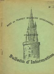 Bases De Transit Militaire Interarmees Atlantique - Bulletin D'Information N°8 - Couverture - Format classique