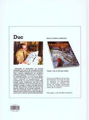 L'art de la bd t.2 ; la technique du dessin - 4ème de couverture - Format classique