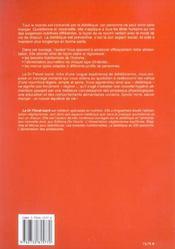 Dietetique Pour Toute La Famille - 4ème de couverture - Format classique