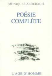 Poesie Complete - Couverture - Format classique