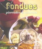 Fondues, pierrades et raclettes - Intérieur - Format classique