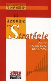 Les grands auteurs en stratégie - Intérieur - Format classique