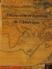 Decouverte Et Bapteme De L Amerique - Intérieur - Format classique