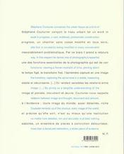 Stephane couturier photographes - 4ème de couverture - Format classique