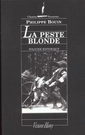 La peste blonde - Intérieur - Format classique