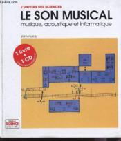 Le Son Musical Livre Et Disque - Couverture - Format classique