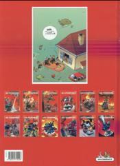 Les pompiers t.1 ; des gars des eaux - 4ème de couverture - Format classique